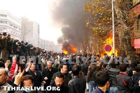 رو عاشورا 88 خشونت سبز انقلاب تجمع تظاهرات اغتشاش آشوب